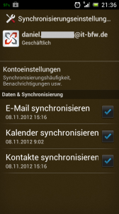 Sony Ericsson Xperia Ray mit Android 4.0.4