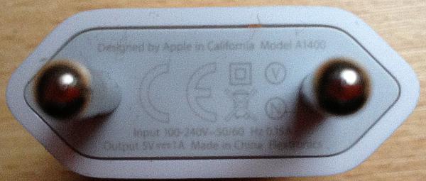 Netzteil vom iPhone 5