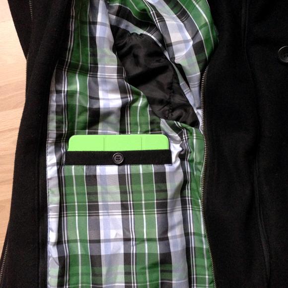 iPad mini in der Innentasche meiner Jacke