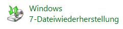 Windows 7-Dateiwiederherstellunge
