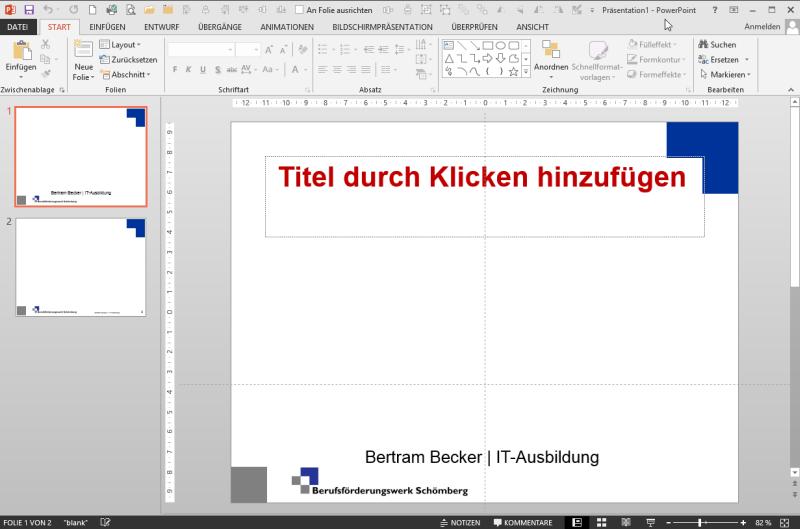 PowerPoint-Start