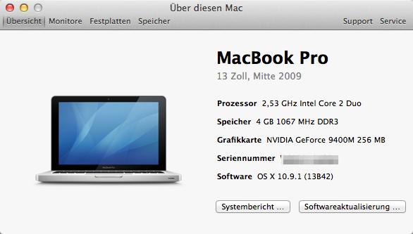 MacBook Pro 13 mid2009