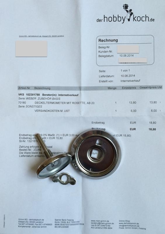 Lieferung von derhobbykoch.de